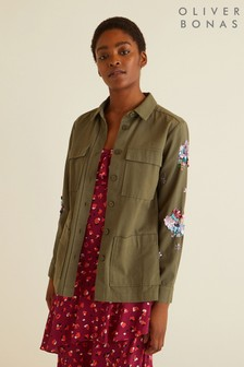 Oliver Bonas Embellished Shacket