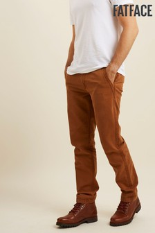 FatFace Brown Modern Coastal Chinos