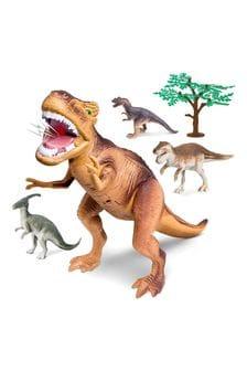 Toy Dinosaur Set 5pc T-Rex