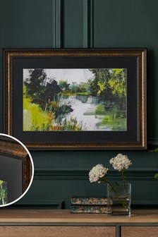 Artist Collection 'April Riverside' by Chris Forsey Framed Wall Art