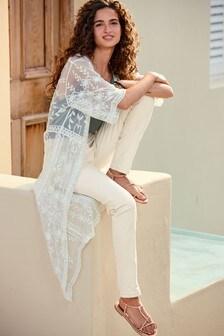 Longline Lace Kimono