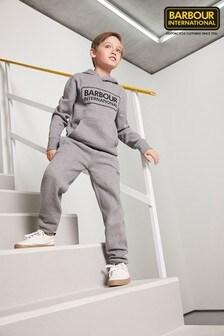 Barbour® International Boys Grey Essential Tracksuit