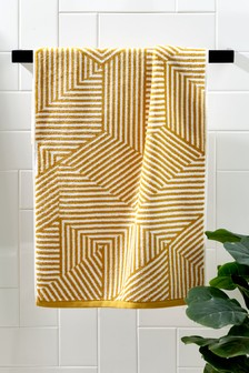 Linear Geo Towel
