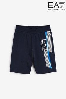 Emporio Armani EA7 Boys 7 Line Shorts