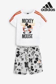 Set pentru bebeluși adidas Mickey Mouse™ alb