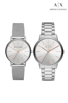 Armarni Exchange His & Hers Watch Set