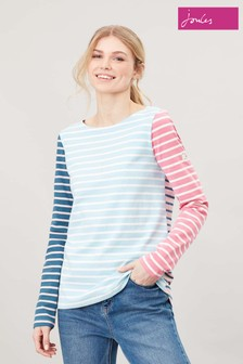 Joules Blue Harbour Long Sleeve Jersey Top