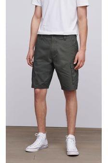 Mens Cargo Shorts   Mens Belted Cargo