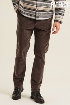 FatFace Grey Stroud Cord Chinos