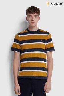 Farah Yellow Celtic Stripe T-Shirt