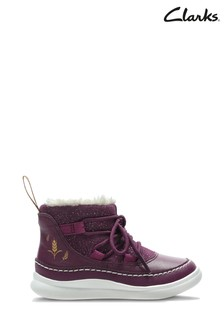 Clarks Toddler Purple Disney™ Frozen Boots