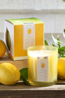 Lemon Curd Boxed Candle