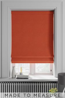 Soho Paprika Orange Made To Measure Roman Blind