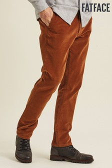 FatFace Brown Stroud Cord Chinos