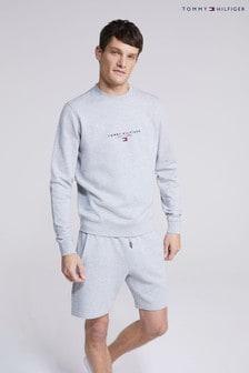 Tommy Hilfiger Grey Essential Tommy Sweatshirt