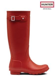 Hunter Original Red Tall Wellies