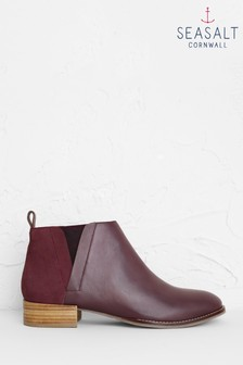 Seasalt Brown Shoreline Boots