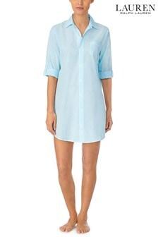 Lauren Ralph Lauren® Classic Woven 3/4 Sleeve His Sleepshirt