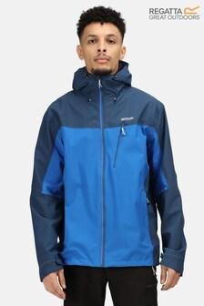 Regatta Blue Birchdale Waterproof Jacket
