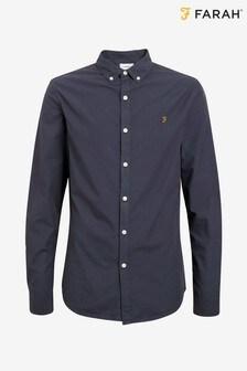 Farah Slim Fit Poplin Cotton Farley Shirt
