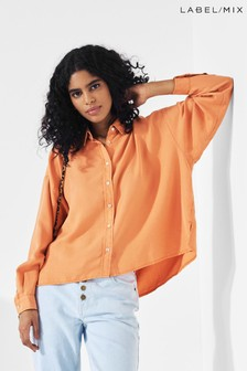 Mix/Reiko Orange Bea Shirt