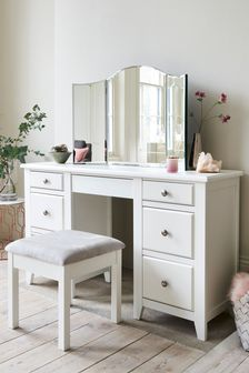 Tri Fold Dressing Table Mirror