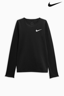 Nike Black Long Sleeve Top