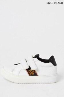 River Island White Plim Shoes