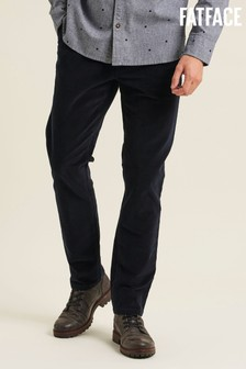 FatFace Blue Stroud Cord Chinos
