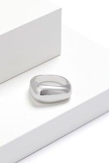 Organic Shape Chunky Ring