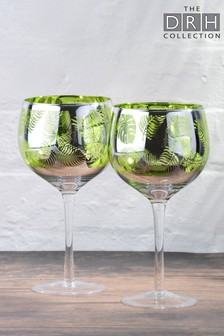2 Pack Gin Glasses By The DRH Collection