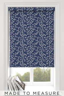 Gilley Navy Blue Made To Measure Roller Blind