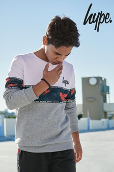 Hype. Retro Sport Block Sweatshirt