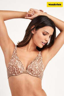 Wonderbra® Refined Glamour Triangle Lace Push Up Bra