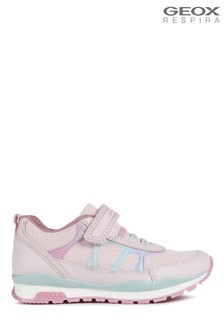 Geox Girl's Pavel Pink Shoes