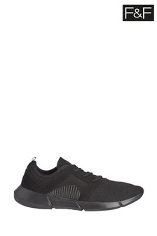 F&F Black Fashion Trainers