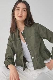 Frill Cotton Jacket
