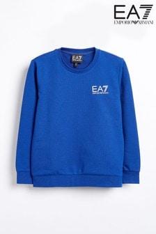 Emporio Armani EA7 Boys Logo Crew Sweater