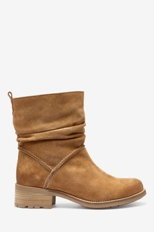 Signature Comfort Pull-On Ankle Boots