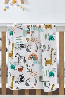 Jungle Supersoft Blanket
