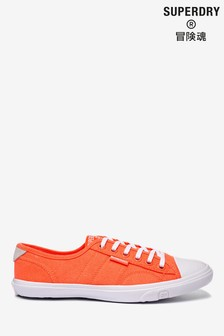 Superdry Orange Low Profile Trainers