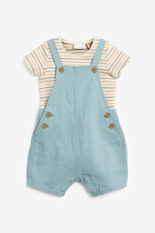 Dungaree and Bodysuit Set (0mths-3yrs)
