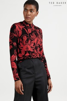 Ted Baker Abyiaah Rococo Printed Fitted Top