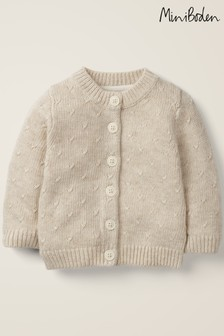 Boden Neutral Novelty Wings Cardigan