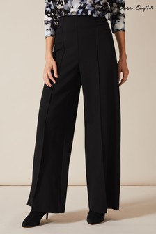 Phase Eight Black Lenka Full Length Trousers