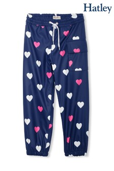 Hatley Blue Striped Hearts Colour Changing Splash Trousers