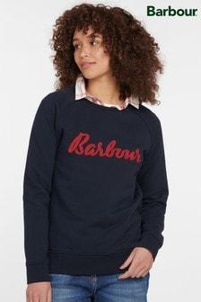 Barbour® Coastal Navy Otterburn Sweatshirt