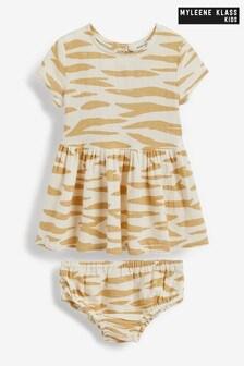 Myleene Klass Baby Dress And Knicker Set