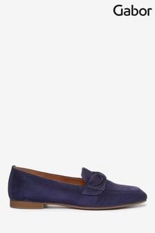 Gabor Blue Villa Suede Casual Shoes