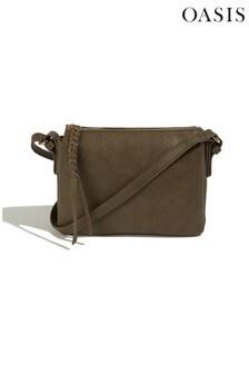 Oasis Grey Small Multi Pocket Bag